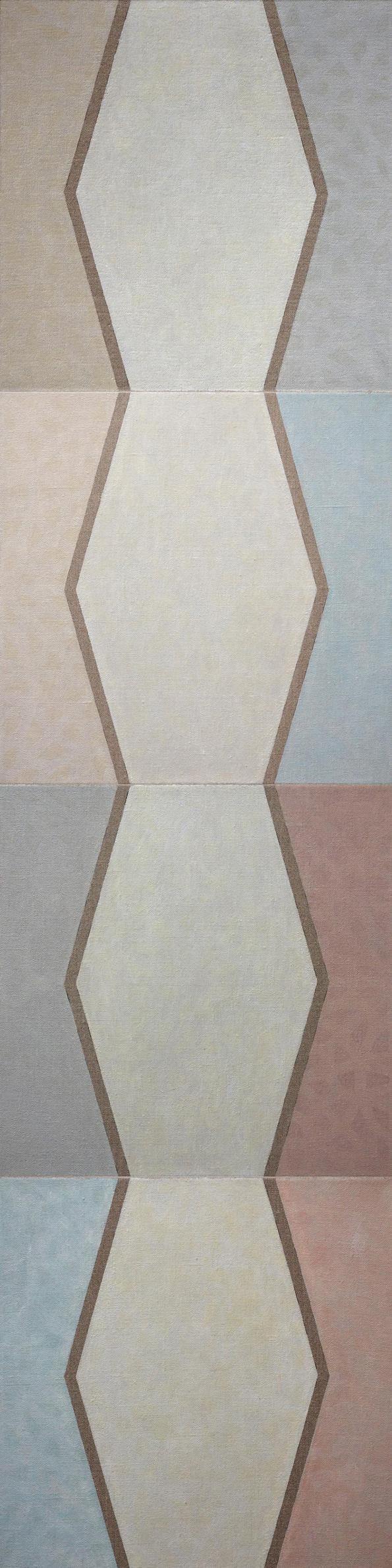 bruneau-pierre-peinture-moucharabiehs-colonne-4-L